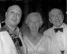 Photo of E.J. with Virginia and Robert Heinlein